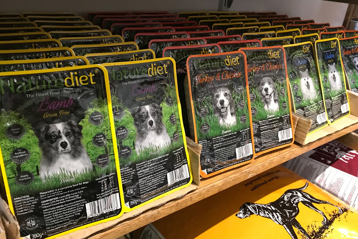 Dogsbody shop - Nature diet dogfood