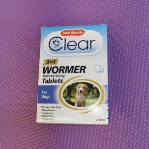 Bob Martin Wormer Tablets Small dog