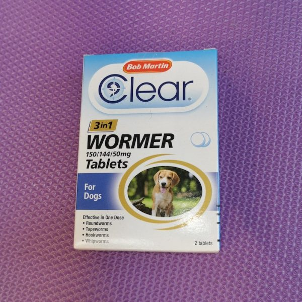 Bob Martin Wormer Tablets Small dog