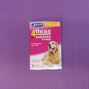 Johnson's flea tablets large dog over 11kg
